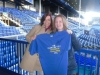 Keavy Lynch with Jen Harpur with Goodison Challenge Shirt