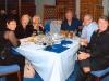 Mike Lyons, John Bailey and Gary Jones with Famil