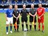 The Legends Captains line up