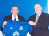 Chairman Laurence Lee with David France