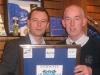 Andrew Lancel with Trustee Tony Kellaher