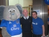 Trustee Tony Kellaher with Changy and EitC Voluteer Michael