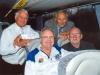 Derek Temple, John Hurst, John Bailey, Frank D'Arcy